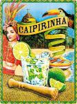 Caipirinha Blechschild