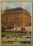 Hotel Adlon Berlin Mini Blechschild