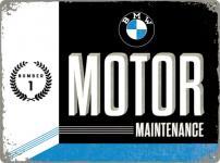 BMW - Motor Maintenance Blechschild