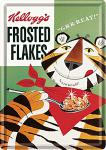 Blechpostkarte Kelloggs Frosted Flakes Tiger