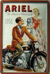Ariel The Modern Motorcycle Blechschild