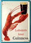Guinness Lobsters Mini Blechschild