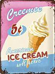 Ice Cream Blechschild