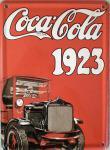 Coca Cola 1923 Mini Blechschild