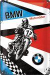 BMW - Motorräder Blechschild