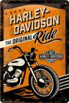 Harley-Davidson - The Original Ride Blechschild