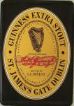 Blechpostkarte Guinness Black Label