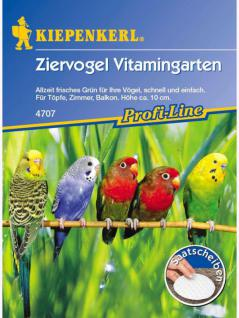 Ziervogel Vitamingarten Saatscheiben