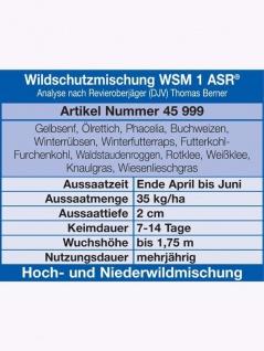 WSM 1 Wildschutzmischung 10kg , Grundpreis: 4.49 € pro 1 kg - Vorschau 1