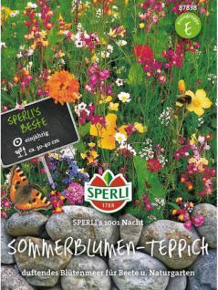 Sommerblumen-Teppich 1001 Nacht