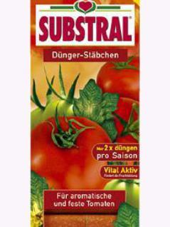 Substral Dünger für Tomaten 10 Stäbchen