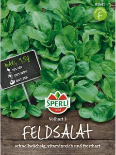 Feldsalat, Volhart 3, Maxipack 9.5 g