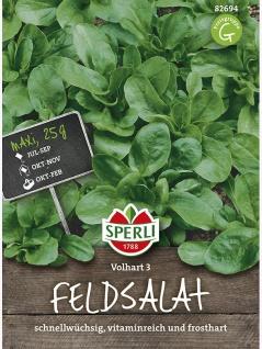 Feldsalat Volhart 3 Maxipack 25g , Grundpreis: 0.12 € pro 1 g