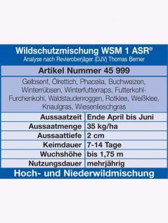 WSM 1 Wildschutzmischung 10kg - Vorschau 2