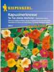 Tropaeolum minus Kapuzinerkresse Tip-Top Alaska-Mischung