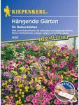 Blumenmischung, Hängende Gärten, für Balkonkästen, Saatband 5mtr