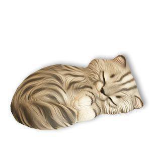 Katze Keramikkatze Purzel