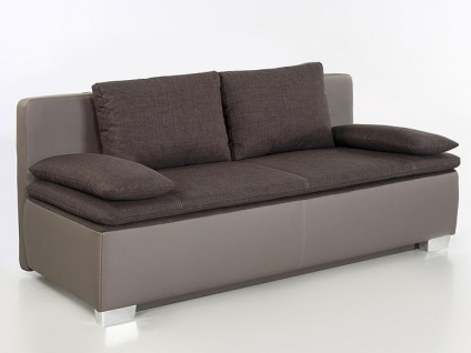 schlafsofa couch duana 202x96cm braun elefant dauerschl fer sofa kaufen bei vbbv gmbh co kg. Black Bedroom Furniture Sets. Home Design Ideas