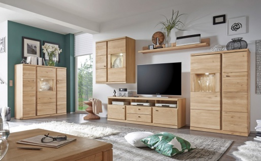 wohnwand teilmassiv online bestellen bei yatego. Black Bedroom Furniture Sets. Home Design Ideas