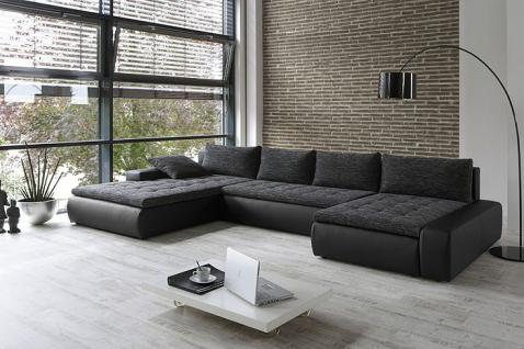 wohnlandschaft cayenne 389x212 162cm anthrazit schwarz sofa couch kaufen bei vbbv gmbh co kg. Black Bedroom Furniture Sets. Home Design Ideas