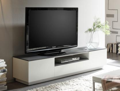 tv m bel wei grau g nstig online kaufen bei yatego. Black Bedroom Furniture Sets. Home Design Ideas