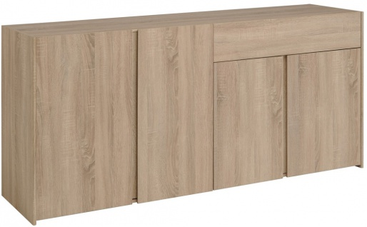 sideboard wilbur 1 eiche sonoma nb 180x85x45 cm schrank schlafzimmer kaufen bei vbbv gmbh co kg. Black Bedroom Furniture Sets. Home Design Ideas