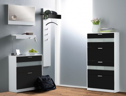 hochglanz schrank schwarz g nstig kaufen bei yatego. Black Bedroom Furniture Sets. Home Design Ideas