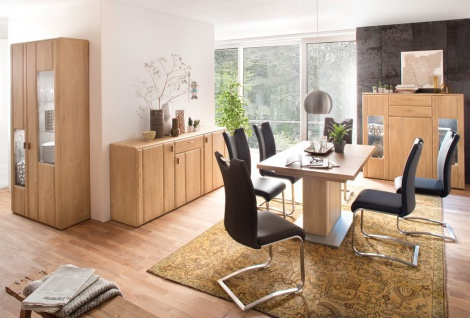 esszimmer tisch eiche online bestellen bei yatego. Black Bedroom Furniture Sets. Home Design Ideas