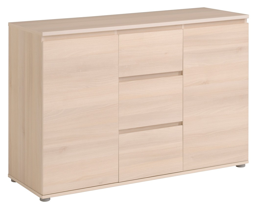 kommode neolie 121x82x40 cm schubkastenkommode sideboard. Black Bedroom Furniture Sets. Home Design Ideas