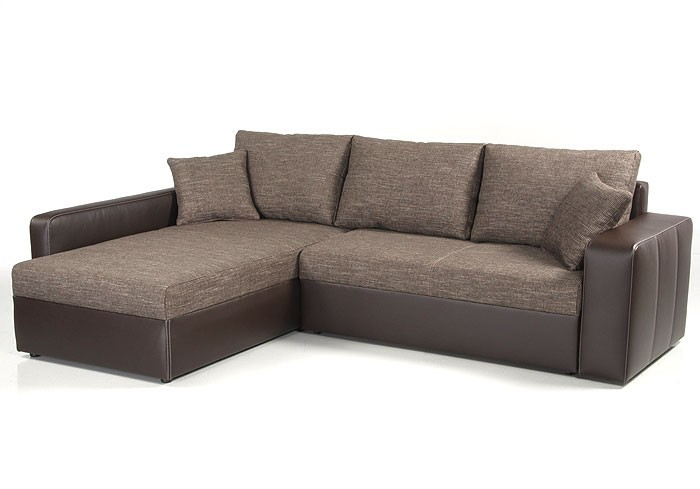 ecksofa vida 244x174cm braun schlafsofa sofa couch polsterecke kaufen bei vbbv gmbh co kg. Black Bedroom Furniture Sets. Home Design Ideas
