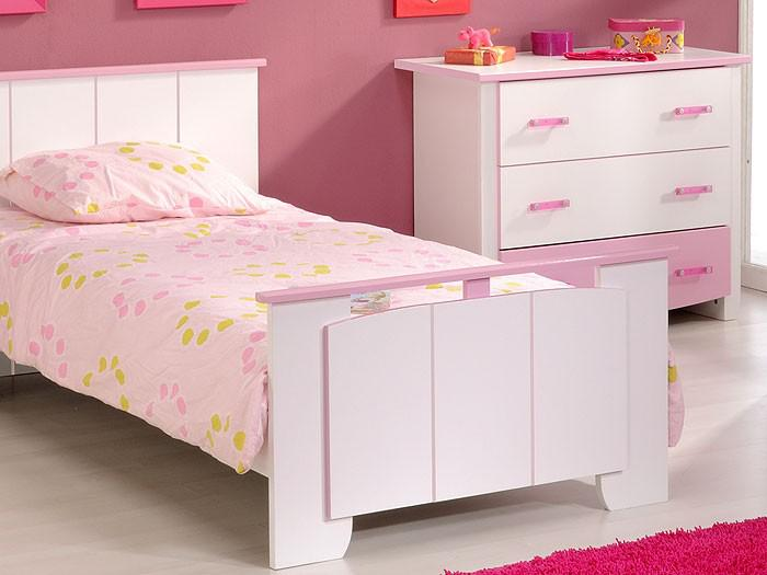 kinderzimmer beauty 1 4 teilig wei rosa schrank bett kommode kaufen bei vbbv gmbh co kg. Black Bedroom Furniture Sets. Home Design Ideas