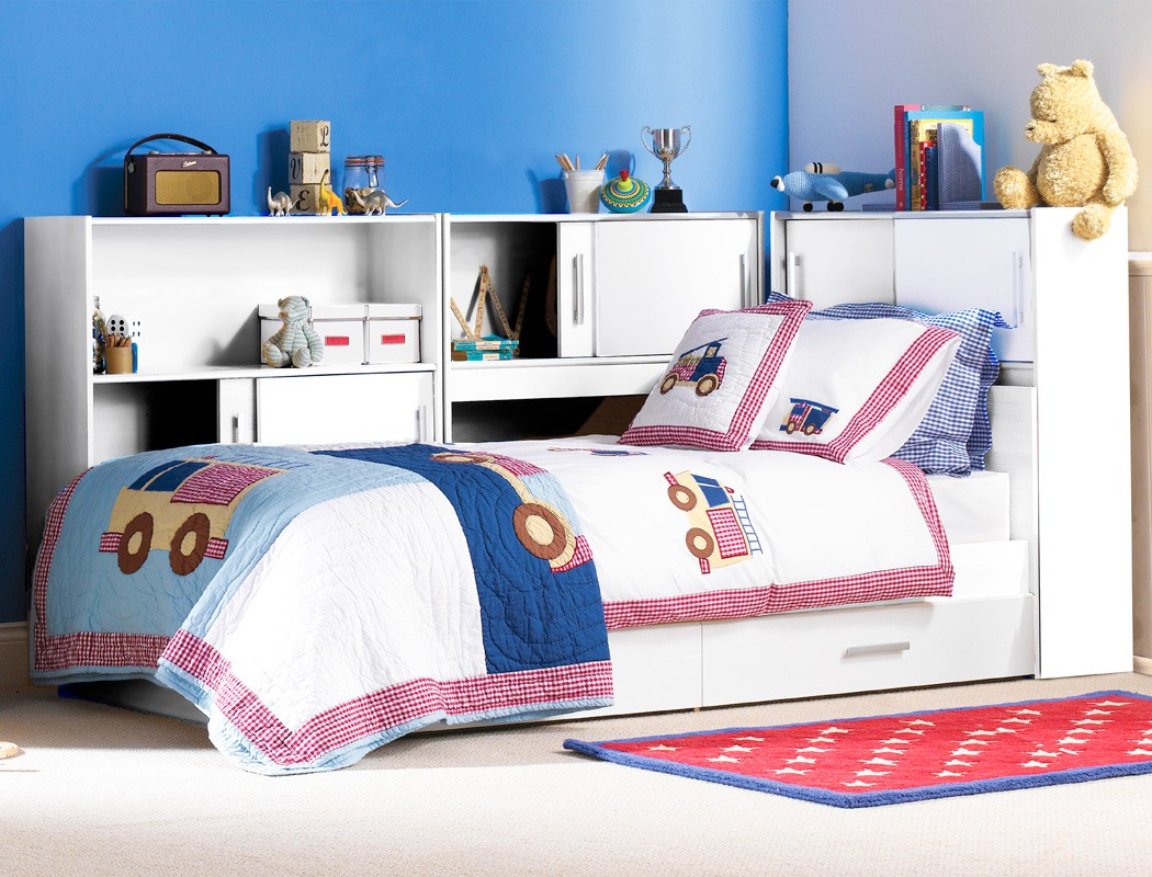 kinderzimmer snapp 2 wei bett 3x regal 2x bettkasten jugendzimmer kaufen bei vbbv gmbh co kg. Black Bedroom Furniture Sets. Home Design Ideas