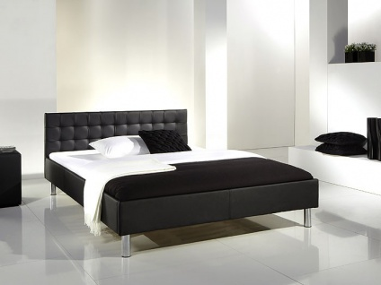 bett schwarz 140x200 online bestellen bei yatego. Black Bedroom Furniture Sets. Home Design Ideas