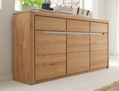 anrichte sideboard eiche massiv g nstig bei yatego. Black Bedroom Furniture Sets. Home Design Ideas