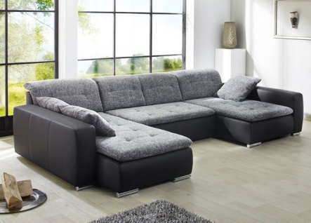 kunstleder couch g nstig sicher kaufen bei yatego. Black Bedroom Furniture Sets. Home Design Ideas