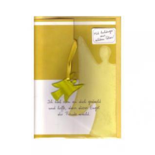 Engel Karte gelb