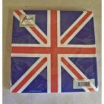 20 Servietten Union Jack