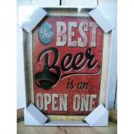 Wandflaschenöffner Best Beer
