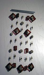 Acryl-Mobile mit Ornamentperlen