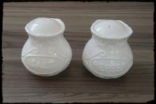 Chic Antique Salz & Pfefferstreuer Provence weiß 6 cm