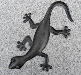 Eidechse Metall 28 cm