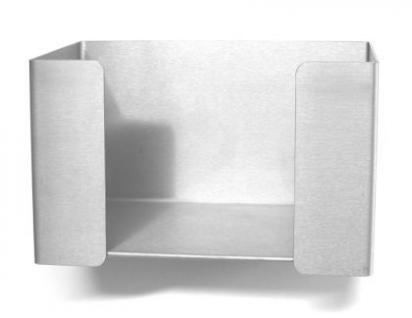 Papierspender Edelstahlblech offen