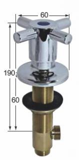armaturen-HAI cross Geräteabsperrventil
