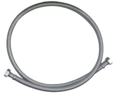 Flexibler Verbindungsschlauch aus Edelstahlgeflecht Ø 12 x 8 mm