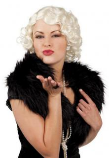 20er- 30er 50er er Jahre PERÜCKE, Marylin Hollywood blond, kurz Damen