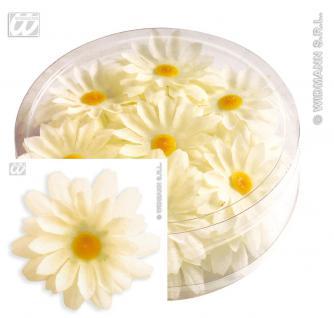 20 MAGERITEN Blumen, Blüten, Deko, 45mm ankleben, steuen