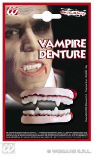 Vampir Zähne Effekt, Horrorgebiss, Zähne Halloween