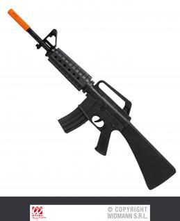 M16 Maschinengewehr 68 cm passend zum S.W.A.T Polizei Kostüm 7084