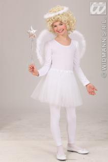 Engel Kostüm, Engelskostüm m. Flügel +Heiligenschein, MädchenKleinkind --98