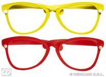 Spaßbrille rot